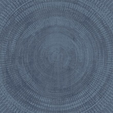 Lalit Dark Blue Medallion Wallpaper