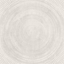 Lalit Off-White Medallion Wallpaper