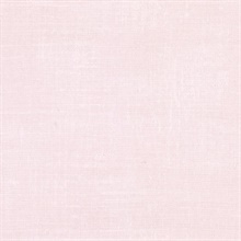 Langston Light Pink Linen Texture Wallpaper