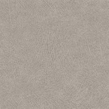Latigo Dove Faux Leather Wallpaper