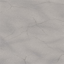 Leon Dusky Grey Faux Marble Stone Commercial Wallpaper