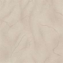 Leon Light Brown Faux Marble Stone Commercial Wallpaper