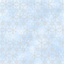 Light Blue Disney Frozen 2 Snowflake Wallpaper