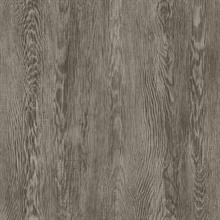 Light Brown Quarter Sawn Faux Wood Wallpaper