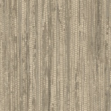Light Brown Vertical Faux Grasscloth