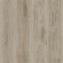 Light Brown Wood Plank Wallpaper (20 Oz Type II Fabric Backed Vinyl)