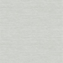Light Gray Challis Woven Wallpaper