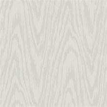 Light Grey Subtle Textured Wood Grain On Textile Strings Wallpaper