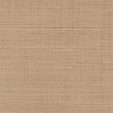 Light Orange Spun Faux Silk Textured Linen Wallpaper