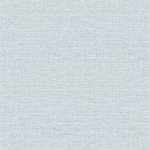 Lilt Blue Faux Grasscloth