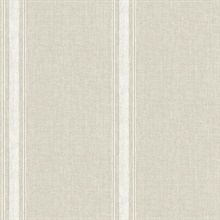 Linette Light Grey Fabric Stripe