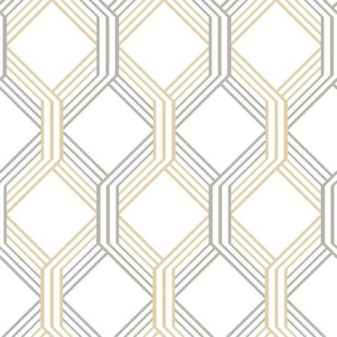linkage gold trellis wallpaper - Trellis Wall Paper
