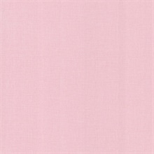 Lino Pink Fabric Texture Wallpaper