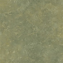 Litto Green Faux Mediterranean Patina Wallpaper