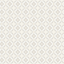 Loka Grey Geometric Floral Wallpaper