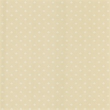 Lottie Beige Ditsy Wallpaper