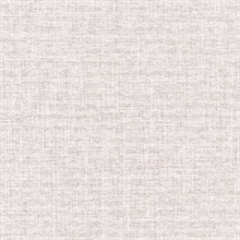 Louis Off White Weathered Faux Linen Commercial Wallpaper