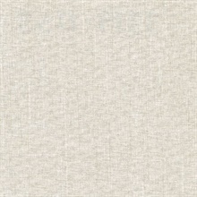 Louis Tan Weathered Faux Linen Commercial Wallpaper