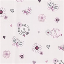 Love Child Pink Peace And Love Wallpaper