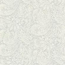 Lula Grey Paisley Wallpaper 2773 702125