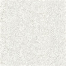 Lula Light Grey Paisley