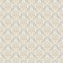 Lulu Honey Damask