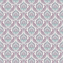 Lulu Plum Damask