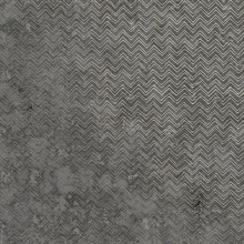 Luna Charcoal Distressed Chevron Wallpaper