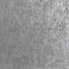 Luster Silver Distressed Texture Wallpaper