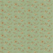 Lydia Green Jacobean Wallpaper
