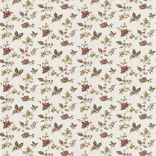 Lydia Red Jacobean Wallpaper