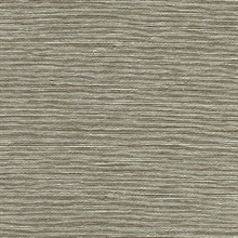 Mabe Taupe Faux Grasscloth