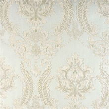 Maizey Mint Damask