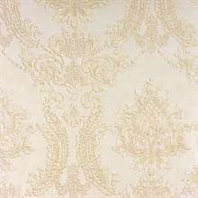 Maizey Neutral Damask