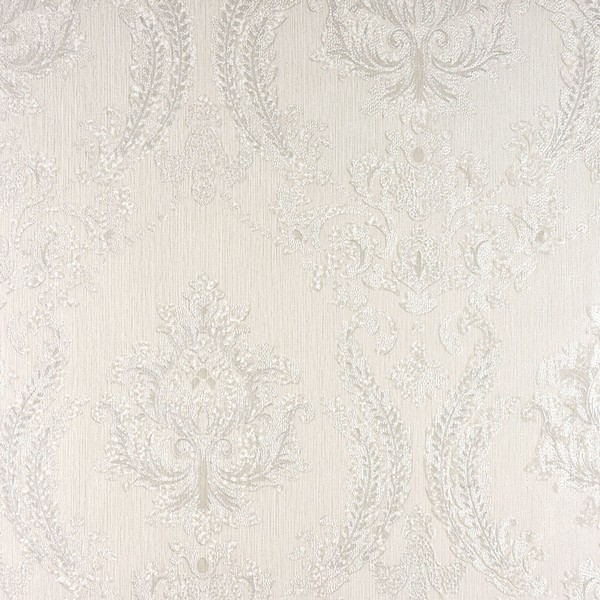 2810 Blw10901 Maizey White Damask Wallpaper Boulevard