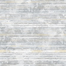 Makayla Light Grey Stripe Wallpaper