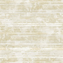 Makayla Light Yellow Stripe Wallpaper