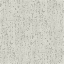 Malawi Light Grey Leather Texture Wallpaper