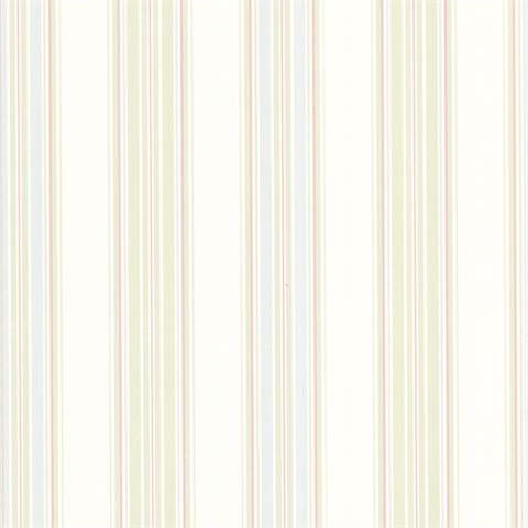 302 66814 Manor Stripe Pastel Stripes Wallpaper