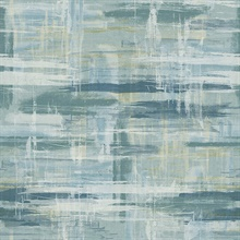 Marari Teal Distressed Texture Wallpaper
