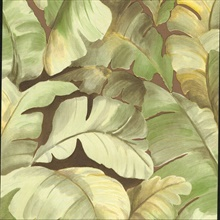 Mardan Lime Banana Leaf Wallpaper