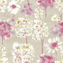 Marilla Pink Watercolor Floral