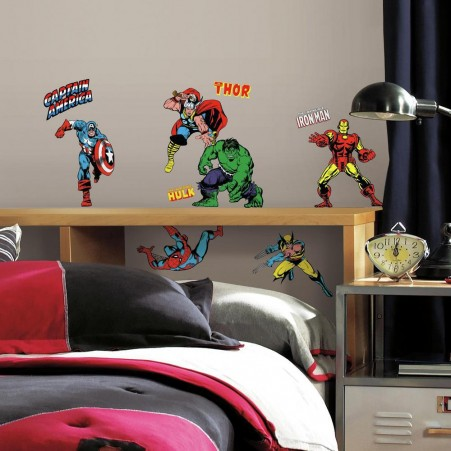 Marvel Classics Wall Decals