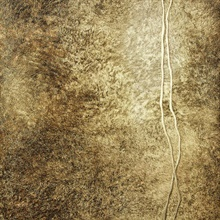 Matera Brown Fur Line Wallpaper