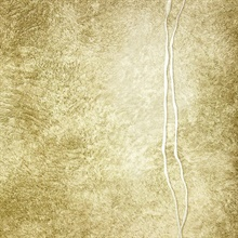 Matera Gold Fur Line Wallpaper