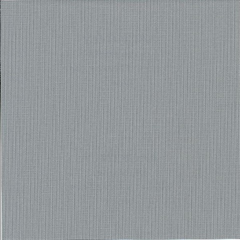 Mckinly Dark Grey Classic Faux Fabric Commercial Wallpaper
