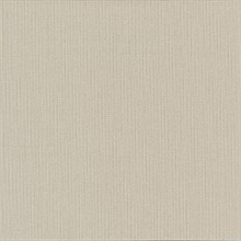 Mckinly Taupe Classic Faux Fabric Commercial Wallpaper