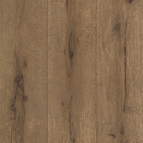 Meadowood Chestnut Wide Plank Wallpaper