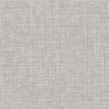 Mendocino Grey Linen Wallpaper