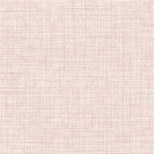 Mendocino Rose Linen Wallpaper